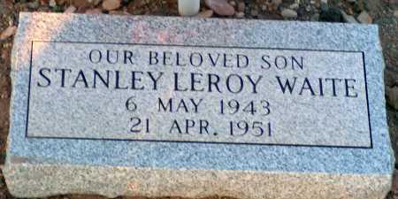 WAITE, STANLEY LEROY - Apache County, Arizona   STANLEY LEROY WAITE - Arizona Gravestone Photos