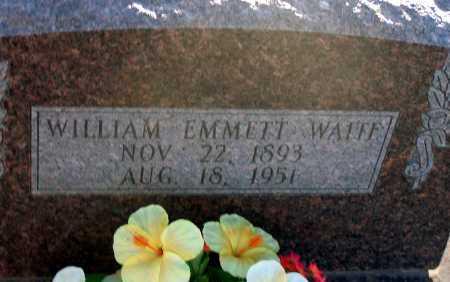 WAITE, WILLIAM EMMETT - Apache County, Arizona | WILLIAM EMMETT WAITE - Arizona Gravestone Photos