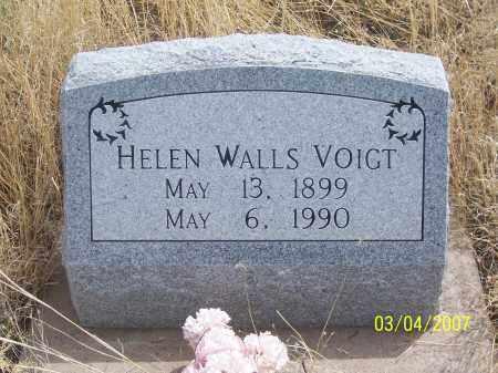 VOIGHT WALLS, HELEN - Apache County, Arizona   HELEN VOIGHT WALLS - Arizona Gravestone Photos