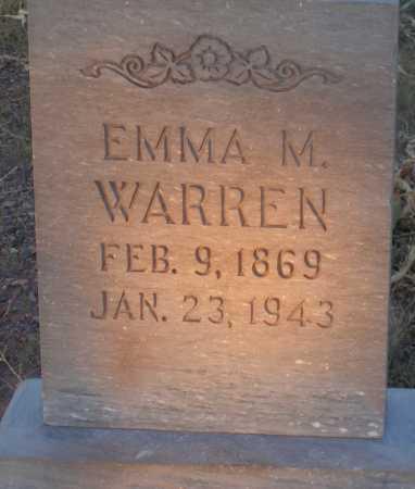 WARREN, EMMA M. - Apache County, Arizona   EMMA M. WARREN - Arizona Gravestone Photos