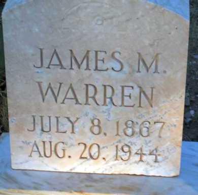 WARREN, JAMES M. - Apache County, Arizona | JAMES M. WARREN - Arizona Gravestone Photos