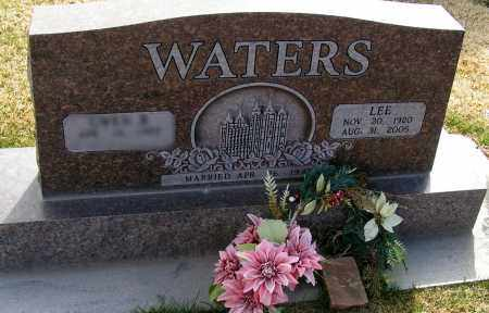 WATERS, LEE - Apache County, Arizona | LEE WATERS - Arizona Gravestone Photos