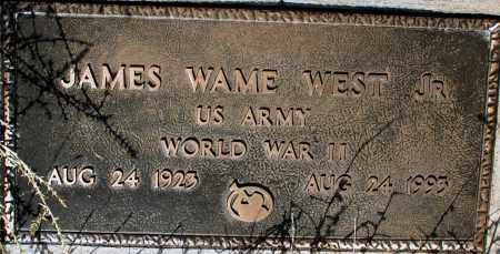 WEST, JAMES WAME, JR. - Apache County, Arizona | JAMES WAME, JR. WEST - Arizona Gravestone Photos