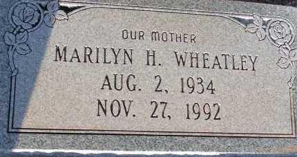 WHEATLEY, MARILYN H. - Apache County, Arizona | MARILYN H. WHEATLEY - Arizona Gravestone Photos