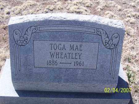 WHEATLEY, TOGA MAE - Apache County, Arizona   TOGA MAE WHEATLEY - Arizona Gravestone Photos