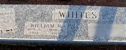 WHITES, WILLIAM M. - Apache County, Arizona | WILLIAM M. WHITES - Arizona Gravestone Photos