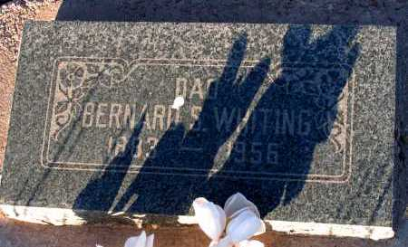 WHITING, BERNARD S. - Apache County, Arizona | BERNARD S. WHITING - Arizona Gravestone Photos