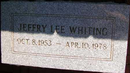 WHITING, JEFFRY LEE - Apache County, Arizona | JEFFRY LEE WHITING - Arizona Gravestone Photos
