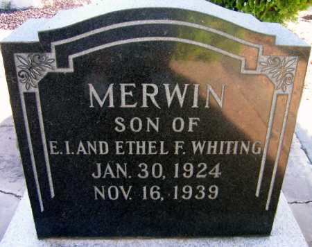 WHITING, MERWIN - Apache County, Arizona | MERWIN WHITING - Arizona Gravestone Photos