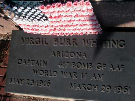 WHITING, VIRGIL BURR - Apache County, Arizona   VIRGIL BURR WHITING - Arizona Gravestone Photos