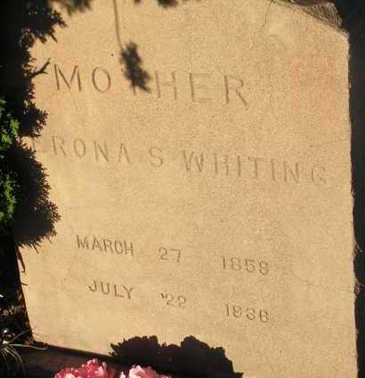 WHITING, VERONA S. - Apache County, Arizona | VERONA S. WHITING - Arizona Gravestone Photos