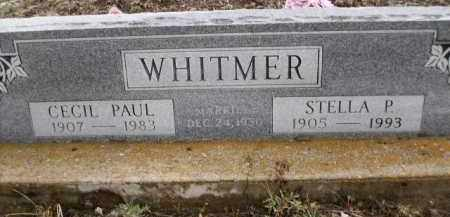 WHITMER, CECIL PAUL - Apache County, Arizona | CECIL PAUL WHITMER - Arizona Gravestone Photos