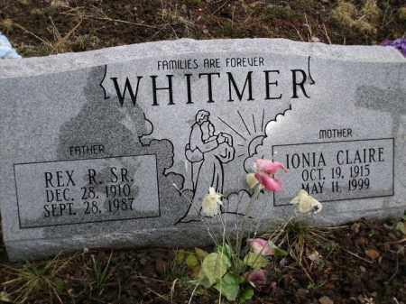 WHITMER, IONIA CLAIRE - Apache County, Arizona   IONIA CLAIRE WHITMER - Arizona Gravestone Photos