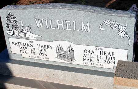 WIHELM, HARRY BATEMAN - Apache County, Arizona | HARRY BATEMAN WIHELM - Arizona Gravestone Photos