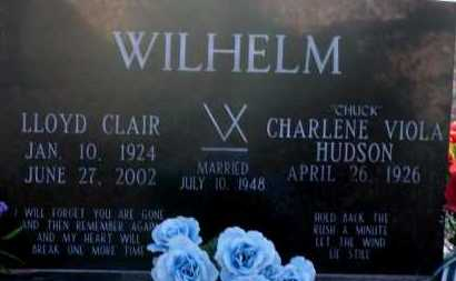 HUDSON WIHELM, CHARLENE VIOLA - Apache County, Arizona | CHARLENE VIOLA HUDSON WIHELM - Arizona Gravestone Photos