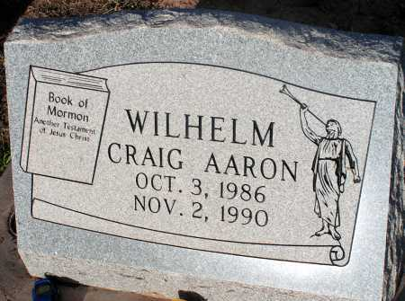 WILHELM, CRAIG AARON - Apache County, Arizona | CRAIG AARON WILHELM - Arizona Gravestone Photos