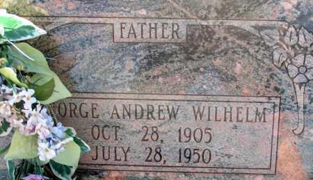 WILHELM, GEORGE ANDREW - Apache County, Arizona   GEORGE ANDREW WILHELM - Arizona Gravestone Photos