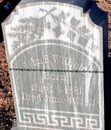 WILHELM, JOHN B. - Apache County, Arizona   JOHN B. WILHELM - Arizona Gravestone Photos