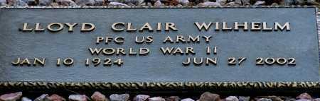 WILHELM, LLOYD CLAIR - Apache County, Arizona   LLOYD CLAIR WILHELM - Arizona Gravestone Photos