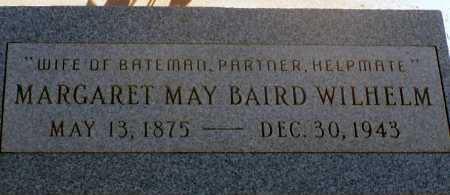 BAIRD WILHELM, MARGARET MAY - Apache County, Arizona | MARGARET MAY BAIRD WILHELM - Arizona Gravestone Photos