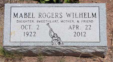 ROGERS WILHELM, MABEL - Apache County, Arizona | MABEL ROGERS WILHELM - Arizona Gravestone Photos