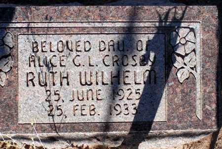 WILHELM, RUTH - Apache County, Arizona | RUTH WILHELM - Arizona Gravestone Photos