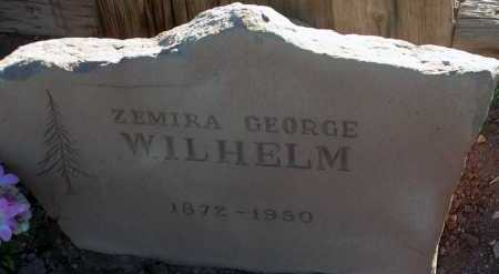 WILHELM, ZEMIRA GEORGE - Apache County, Arizona | ZEMIRA GEORGE WILHELM - Arizona Gravestone Photos