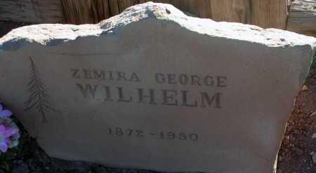 WILHELM, ZEMIRA GEORGE - Apache County, Arizona | ZEMIRA GEORGE WILHELM - Arizona Gravestone Photos