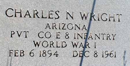 WRIGHT, CHARLES N. - Apache County, Arizona   CHARLES N. WRIGHT - Arizona Gravestone Photos