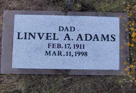 ADAMS, LINVEL - Cochise County, Arizona | LINVEL ADAMS - Arizona Gravestone Photos