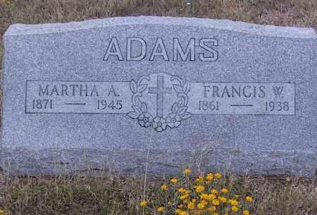 ADAMS, FRANCIS W. - Cochise County, Arizona   FRANCIS W. ADAMS - Arizona Gravestone Photos