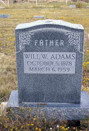 ADAMS, WILL - Cochise County, Arizona | WILL ADAMS - Arizona Gravestone Photos