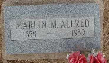 ALLRED, MARLIN M. - Cochise County, Arizona | MARLIN M. ALLRED - Arizona Gravestone Photos