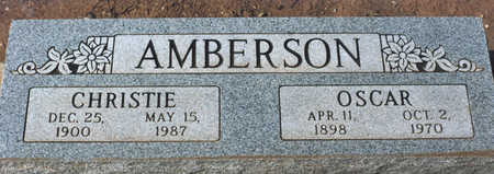 AMBERSON, CHRISTIE - Cochise County, Arizona | CHRISTIE AMBERSON - Arizona Gravestone Photos