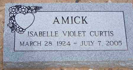 AMICK, ISABELLE VIOLET - Cochise County, Arizona | ISABELLE VIOLET AMICK - Arizona Gravestone Photos