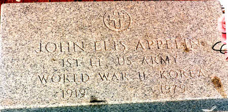 APPELIN, JOHN ELIS - Cochise County, Arizona | JOHN ELIS APPELIN - Arizona Gravestone Photos