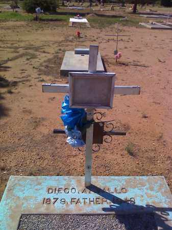 ARVALLO, DIEGO - Cochise County, Arizona | DIEGO ARVALLO - Arizona Gravestone Photos