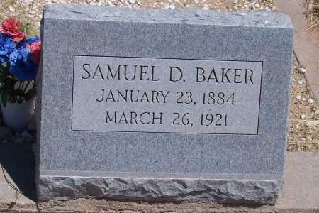 BAKER, SAMUEL D. - Cochise County, Arizona | SAMUEL D. BAKER - Arizona Gravestone Photos
