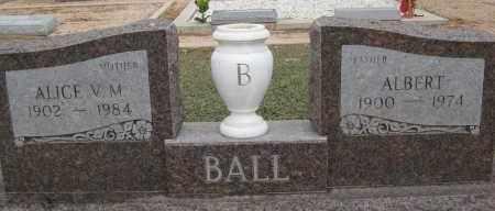 BALL, ALBERT - Cochise County, Arizona | ALBERT BALL - Arizona Gravestone Photos