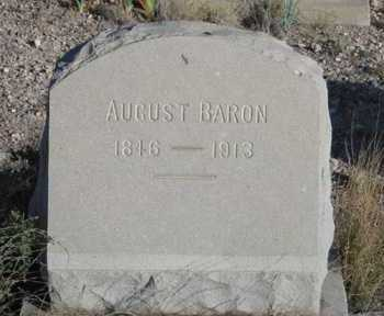 BARON, AUGUST - Cochise County, Arizona | AUGUST BARON - Arizona Gravestone Photos
