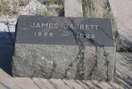 BARRETT, JAMES - Cochise County, Arizona | JAMES BARRETT - Arizona Gravestone Photos