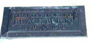 BLACKBURN, CHARLES LEONARD - Cochise County, Arizona   CHARLES LEONARD BLACKBURN - Arizona Gravestone Photos