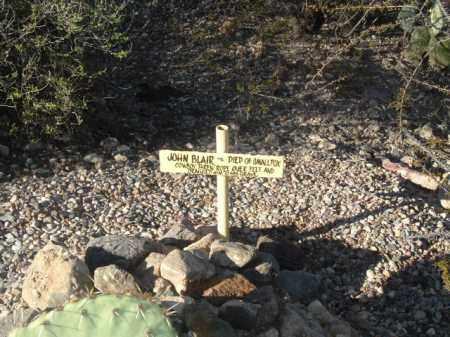 BLAIR, JOHN - Cochise County, Arizona | JOHN BLAIR - Arizona Gravestone Photos