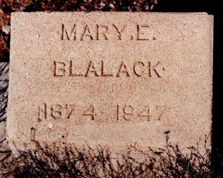 BLALACK, MARY E - Cochise County, Arizona | MARY E BLALACK - Arizona Gravestone Photos