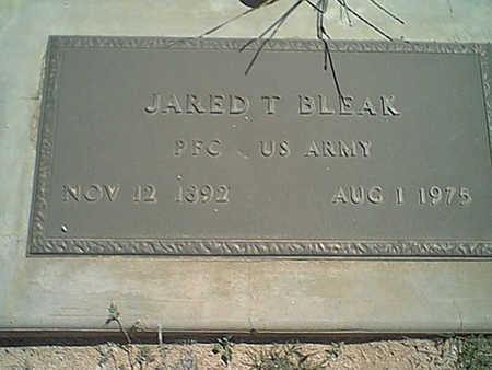 BLEAK, JARED - Cochise County, Arizona   JARED BLEAK - Arizona Gravestone Photos