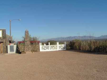 *BOOTHILL, CEMETERY GATE - Cochise County, Arizona | CEMETERY GATE *BOOTHILL - Arizona Gravestone Photos