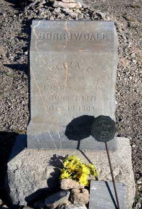 BURROWDALE, ELIZA C - Cochise County, Arizona   ELIZA C BURROWDALE - Arizona Gravestone Photos