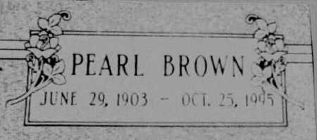 JONES BROWN, PEARL - Cochise County, Arizona | PEARL JONES BROWN - Arizona Gravestone Photos