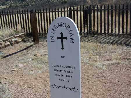 BROWNLEY, JOHN - Cochise County, Arizona | JOHN BROWNLEY - Arizona Gravestone Photos