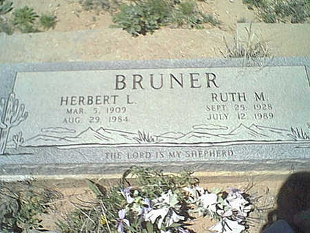 BRUNER, RUTH - Cochise County, Arizona | RUTH BRUNER - Arizona Gravestone Photos